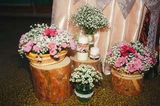 Свадьба в стиле рустик - фото 11926122 Студия декора Rizi