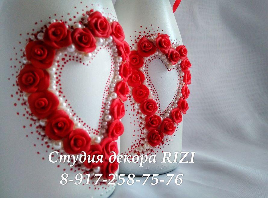 Свадебное шампанское - фото 12124770 Студия декора Rizi