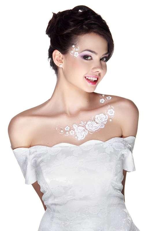 Образ для неординарных и креативных невест! - фото 2843709 Визажист Лейсан Шакирова
