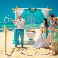 Лида и Саша 13.04.14 остров Саона, Доминиканская республика Символическая церемония Dommarried  #свадьба_в_доминикане #фотограф_в_доминикане #margo_soulxray #wedding