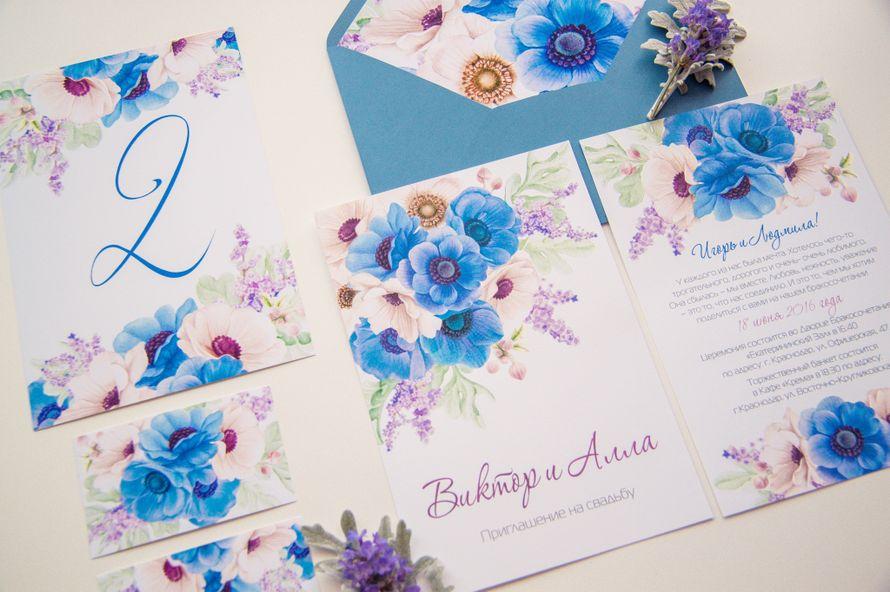 Свадебные приглашения. Свадебная полиграфия. - фото 14752444 Wedding and event invitations - мастерская полиграфии