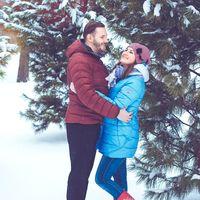 Теплая зимняя фотопрогулка с Татьяной и Сергеем :)