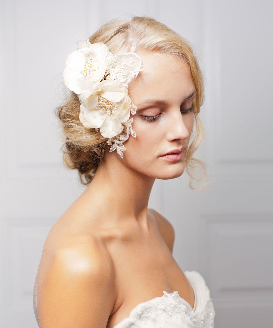 Украшении для свадебных причесок фото