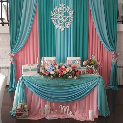 Оформление свадьбы в стиле Шебб Шик