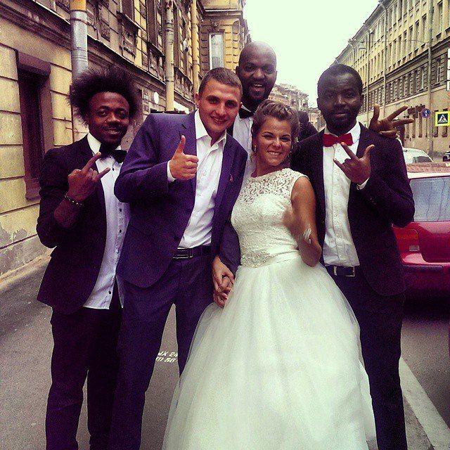 Темнокожие ведущие - хит сезона!!!!!!!!! - фото 3207543 Компания Троя - организация свадеб