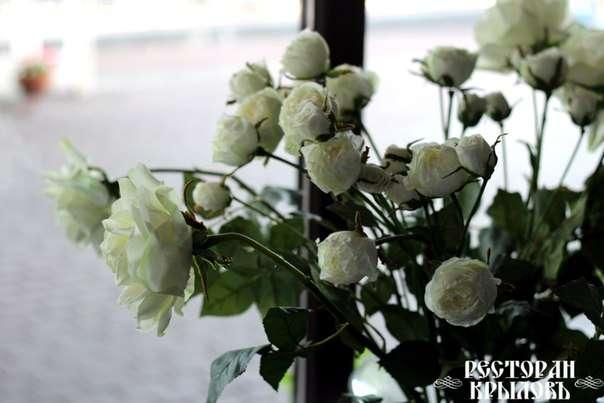 Цветы, чтобы радовать глаз и поднимать настроение - фото 2898657 Ресторан Крыловъ