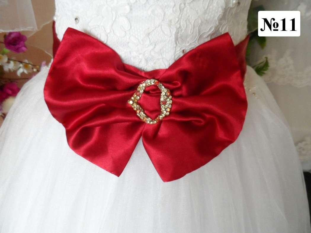 Как сделать бантики для платья