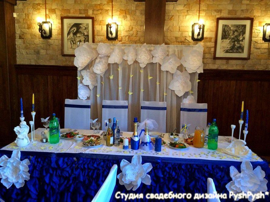 """Ресторан """"Завируха"""". Каминный зал. Силичи. - фото 2921181 Студия свадебного дизайна PyshPysh"""