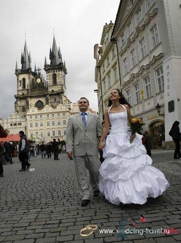 Фото 18085 в коллекции Свадьбы в Чехии