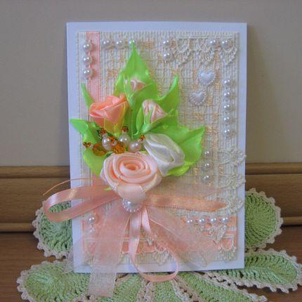 Свадебные приглашения для персиковой свадьбы