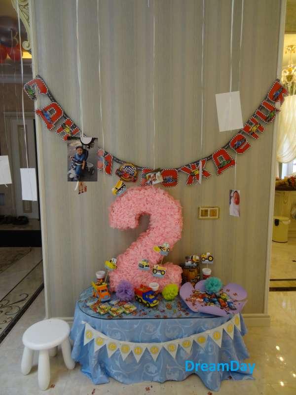 """Оформление двойного детского дня рождения """"2+8"""". Candy bar - фото 3030483 DreamDay - оформление свадьбы"""