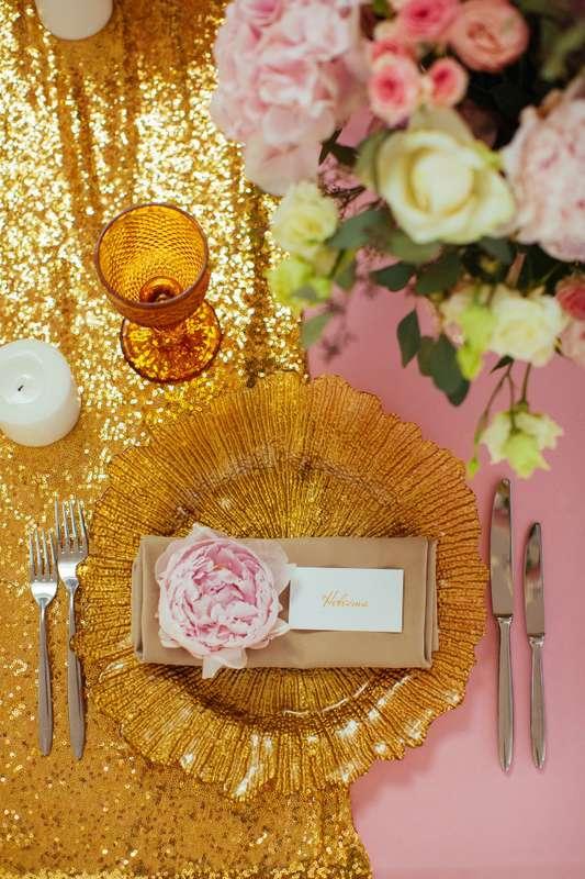 """Фото 17046026 в коллекции Свадьба Александра и Екатерины """"Rose & Gold"""" 15.07.15 - Студия декора и флористики Page of love"""