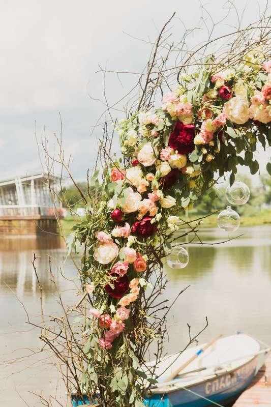 Фото 17046086 в коллекции Свадьба Антона и Екатерины 1.07.17 - Студия декора и флористики Page of love