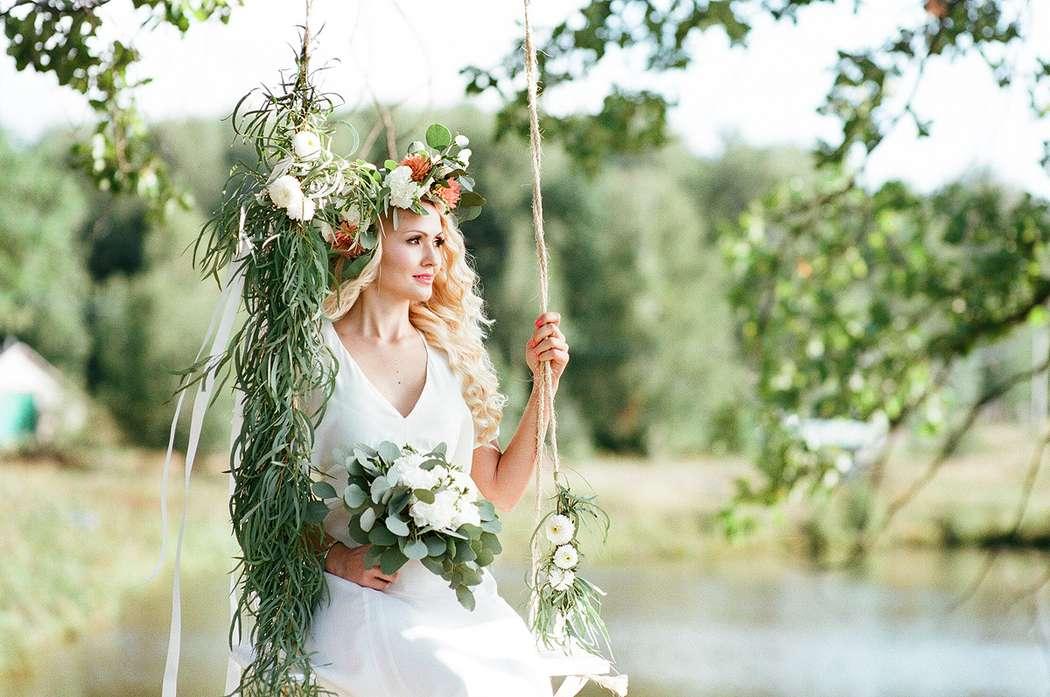 свадьба летом в стиле русалочка