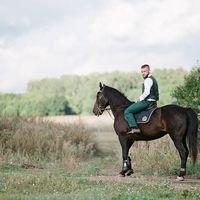 Жених на коне