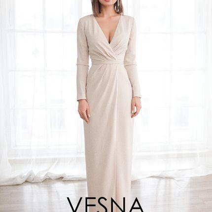 Платье Арфис Пудра