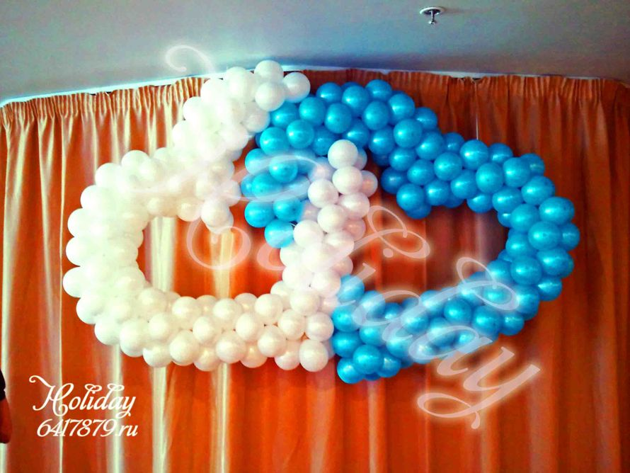 Фото 3085203 в коллекции Свадьба - Holiday - оформление воздушными шарами