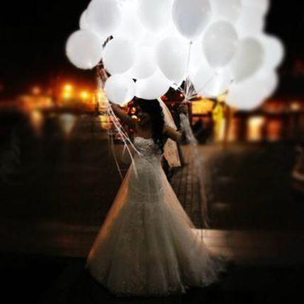 Светящиеся воздушные гелиевые шары