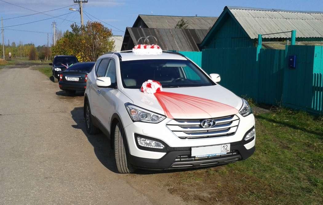 HYUNDAI SANTA FE на Вашу свадьбу! - фото 3086331 Свадебный кортеж из Hyundai Ix35