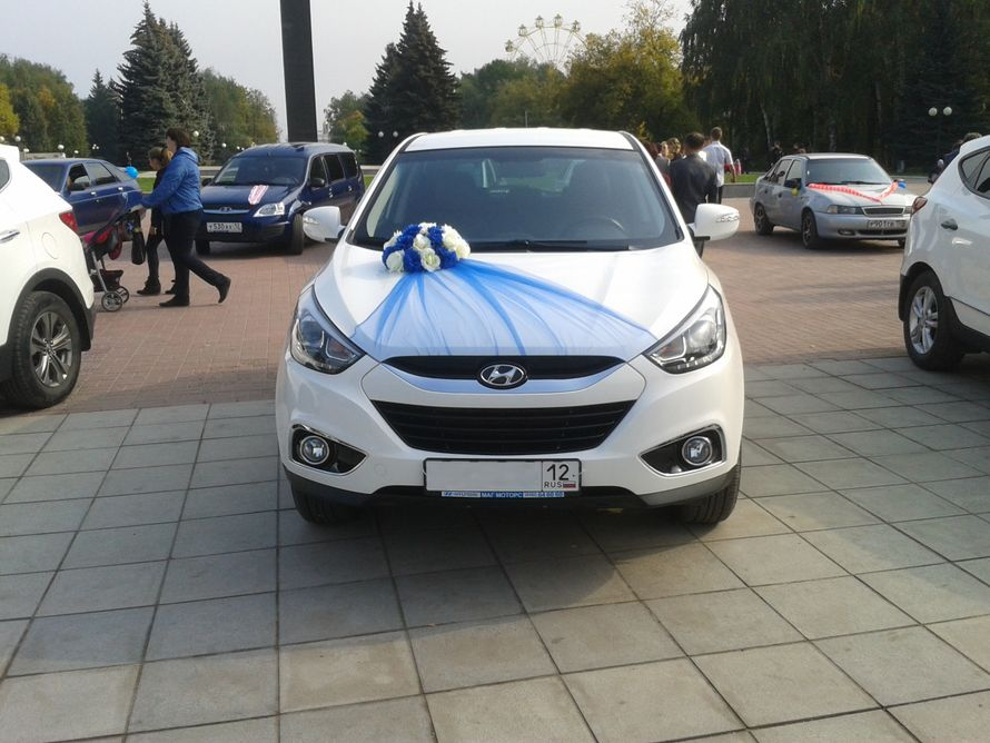 HYUNDAI IX35 на Вашу свадьбу! - фото 3086335 Свадебный кортеж из Hyundai Ix35