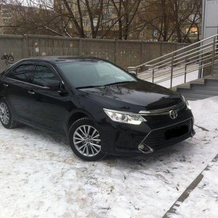 Аренда Toyota Camry 2016, за 1 час