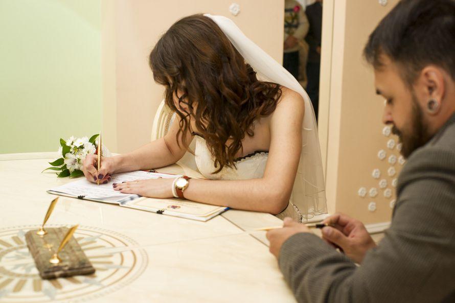 Регистрация КОСТИ&ОЛИ - фото 13160650 Фотограф Надежда Котомина
