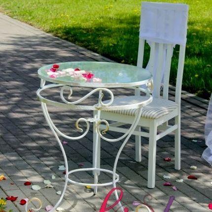 Кованный стол и стул напрокат