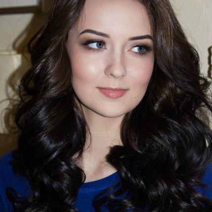 Вечерний макияж + укладка волос для гостей