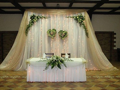 Оформление свадебного стола - фото 3174793 ЭкоDekor - декор свадеб