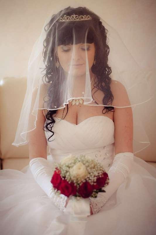 Нежная невеста Олечка! Спасибо  за ваш выбор!!! - фото 14892572 Свадебный салон Юлии Савиной
