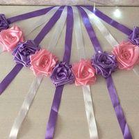 браслетики для подружек невесты в наличии сиреневый,розовый,персиковый, желтый,синий