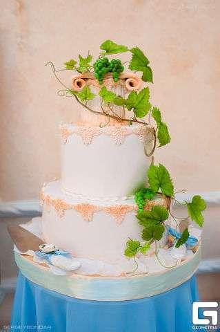 """Фото 3207349 в коллекции Мои фотографии - """"Торт с изюминкой"""" - свадебные торты"""