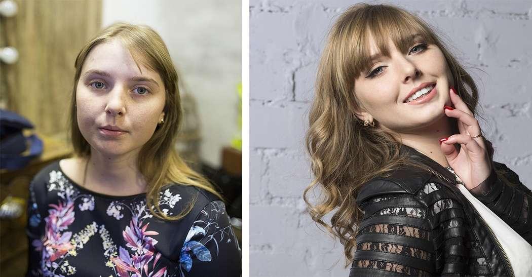 Таня макияж и прическа (без фотошопа) - фото 5594130 Стилист Русанова Анна
