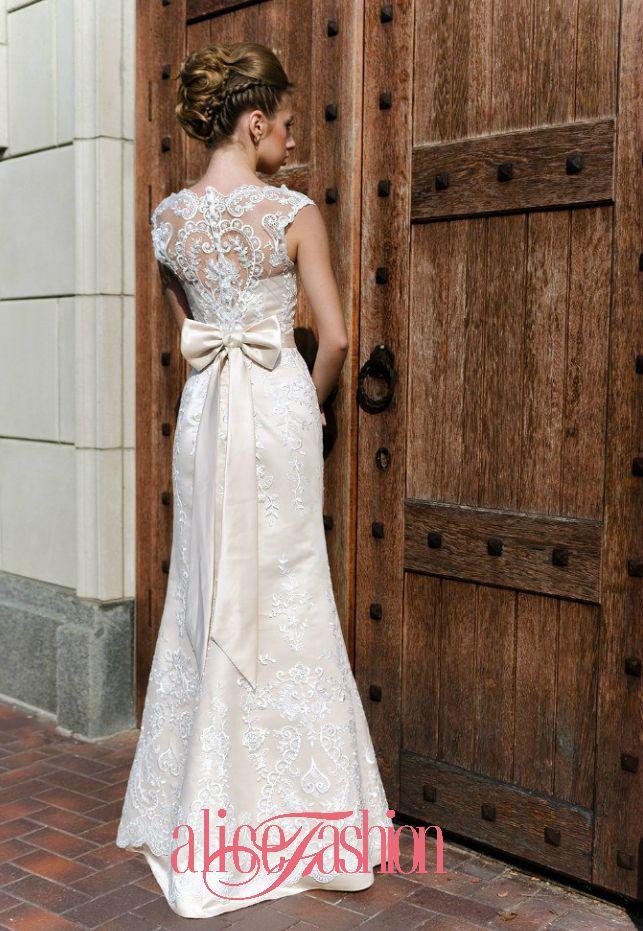 Свадебное платье Alice Fashion, Новая коллекция 2015, модель: W15-048 - фото 3219311 Свадебные платья Alice Fashion