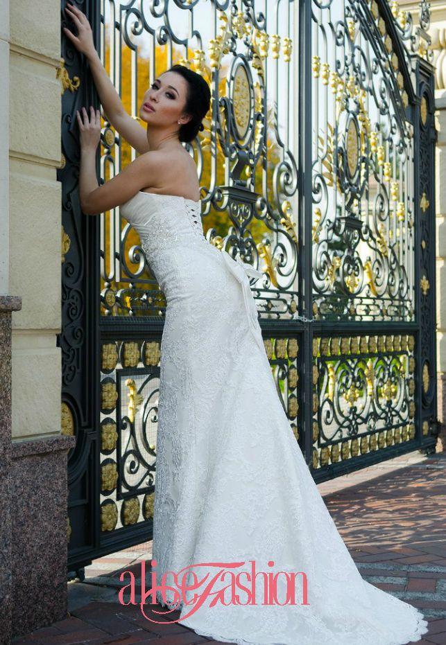 Свадебное платье Alice Fashion, Новая коллекция 2015, модель: W15-051 - фото 3219317 Свадебные платья Alice Fashion