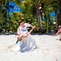 свадьба на острове Саона, Доминикана, любовь, танец