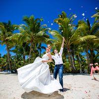 свадьба на острове Саона, Доминикана, любовь, счастье