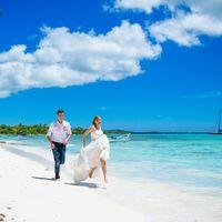 свадьба на острове Саона, Доминикана, любовь, счастье , море, небо