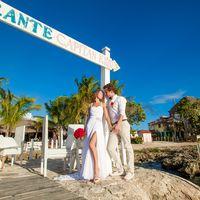свадьба на острове Саона, Доминикана, любовь , порт, букет, закат, ресторан