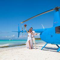 свадьба на острове Саона, Доминикана, любовь , свадьба, счастье, вертолет