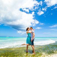 Доминикана, свадьба, море , небо,  любовь