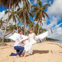 свадьба на пляже Макао, Доминикана, пляж, океан, ,