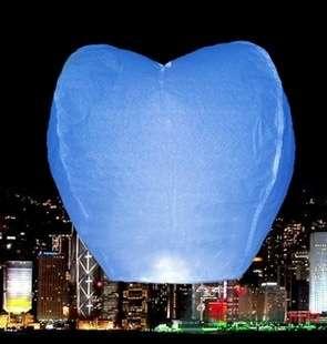 """Голубое сердце - фото 43541 Студии """"Сакура"""" - свадебные аксессуары"""