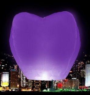 """Фиолетовое сердце - фото 43553 Студии """"Сакура"""" - свадебные аксессуары"""