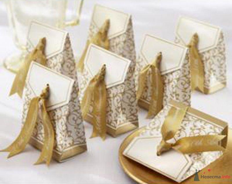 """Золотой подарок - фото 43590 Студии """"Сакура"""" - свадебные аксессуары"""