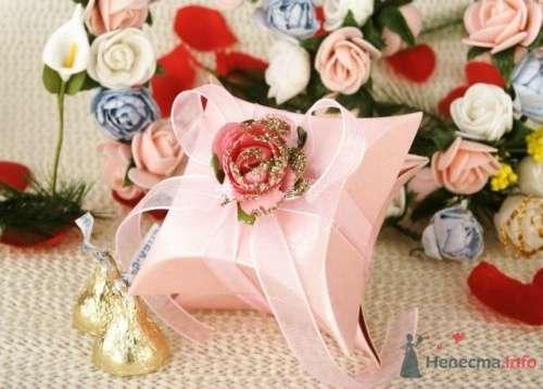 """Коробочка с розой - фото 43597 Студии """"Сакура"""" - свадебные аксессуары"""