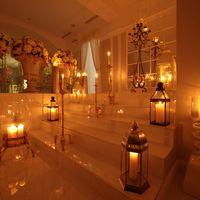 Выездная церемония при свечах