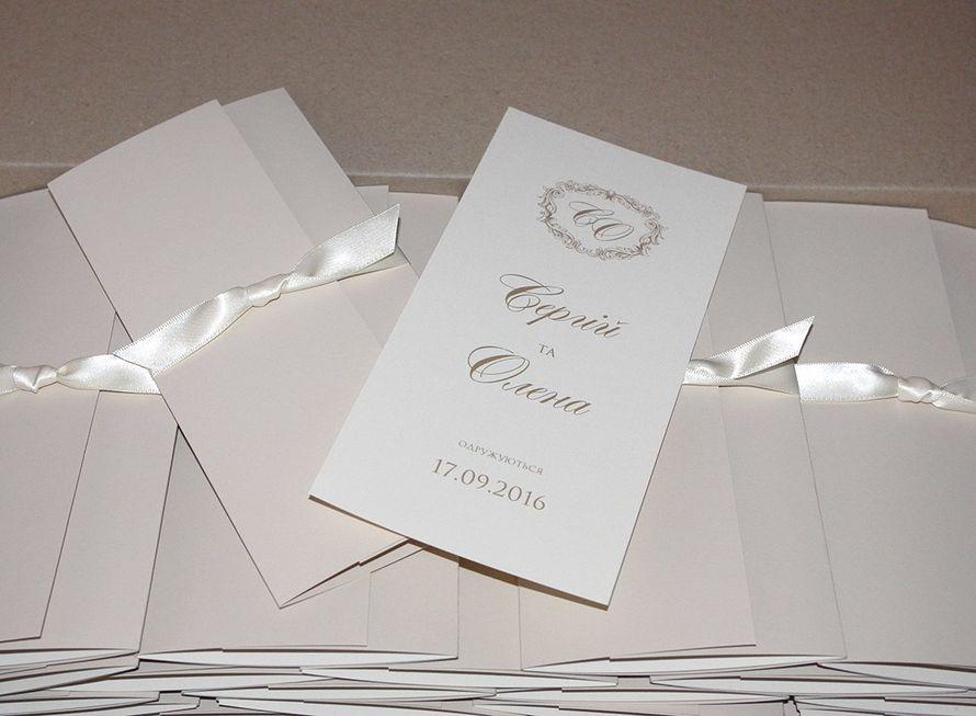 Для Сергія та Олени! - фото 13254510 Пригласительные от Style wedding