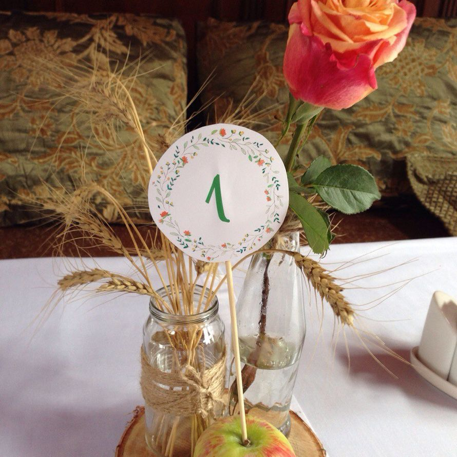 Фото 7745740 в коллекции Свадебная флористика и декор - Ирина Столповских - флористика и декор