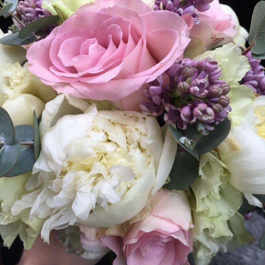 букет с пионами , розами и сиренью!!! - фото 10136456 Ирина Столповских - флористика и декор